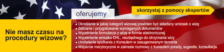 Wizy do USA - Po�rednictwo